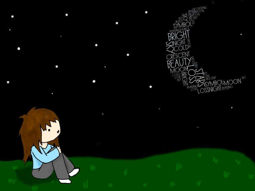 staring at the moon1